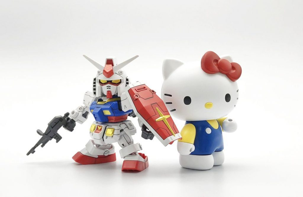 kitty RX78 鋼彈